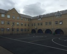 Basketball netball court