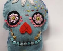 Plush sugar skulls 2